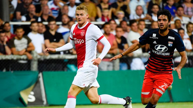 Ajax defender Matthijs de Ligt is hot property