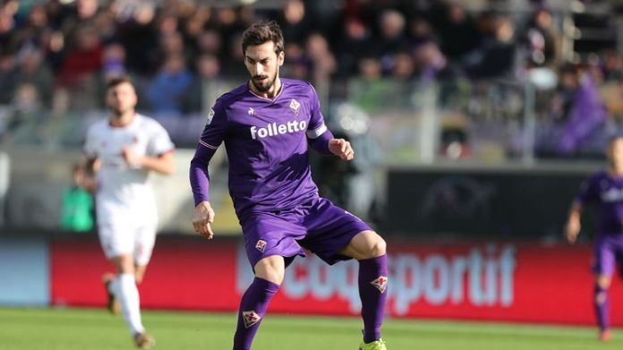 The Fiorentina captain was found in his hotel room on Sunday morning by club staff