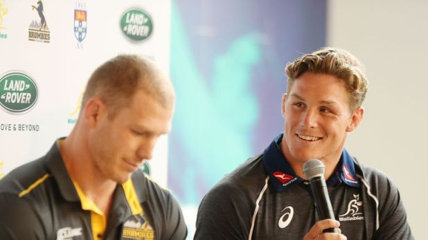 David Pocock and Michael Hooper form part of Australia's formidable back row