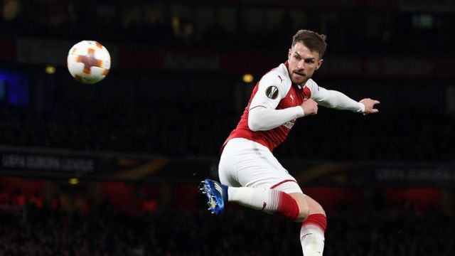 Aaron Ramsey 's second goal was a fine finish