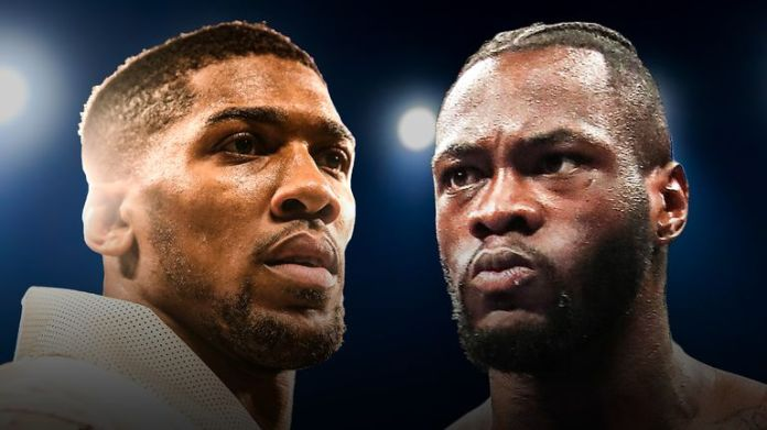 Deontay Wilder is ready to fight Anthony Joshua for all world championship titles