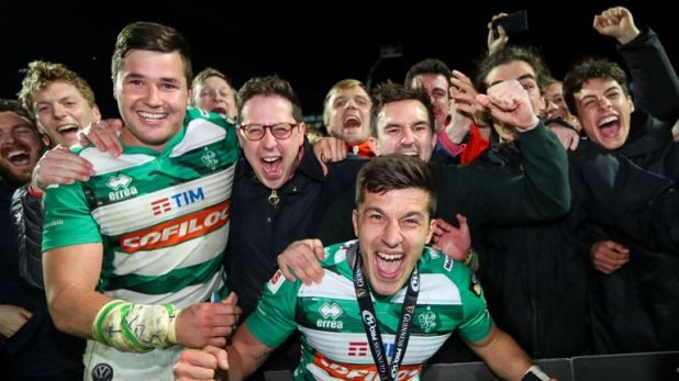 Benetton are no longer the whipping boys of the PRO14