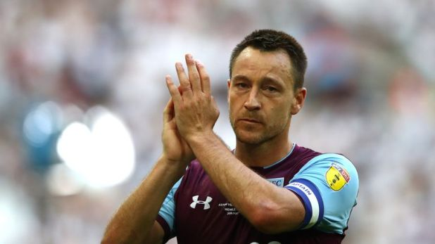 Villa coach John Terry was part of the side which lost against Fulham in last year's final