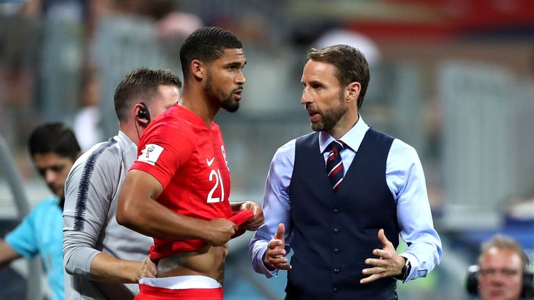 Loftus-Cheek came off the bench as England scored a late winner against Tunisia
