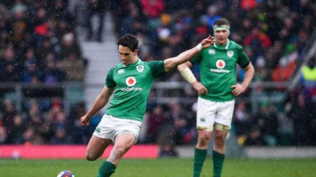 It will be a fourth start for Joey Carbery and a 13th test in all