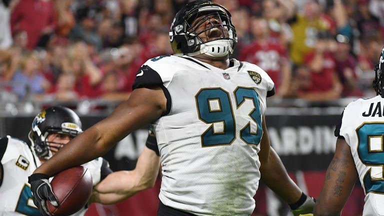 Calais Campbell has racked up 71 career sacks, including 14.5 in 2017