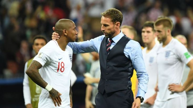 Ashley Young has been left out by manager Gareth Southgate