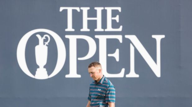 Spieth was tied for the lead after 54 holes at The Open before firing a disappointing 76