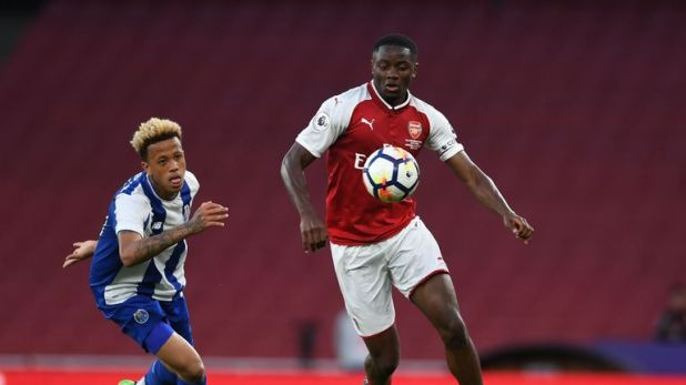 Josh Dasilva left Arsenal earlier in the summer and has now signed for Brentford