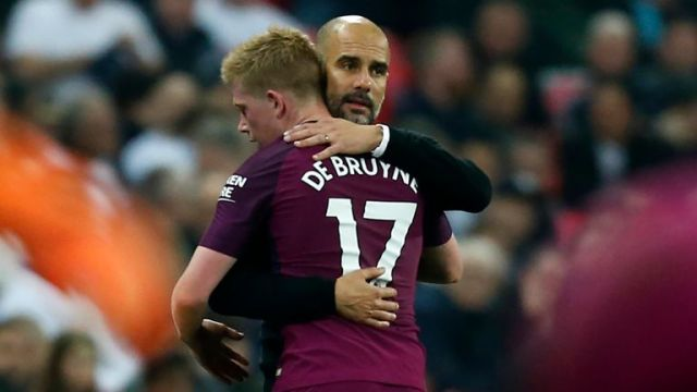 Kevin de Bruyne is close to a return to training, says Pep Guardiola