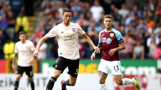 Nemanja Matic played the full 90 minutes for the first time this season