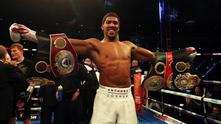 Joshua remains a unified heavyweight world champion