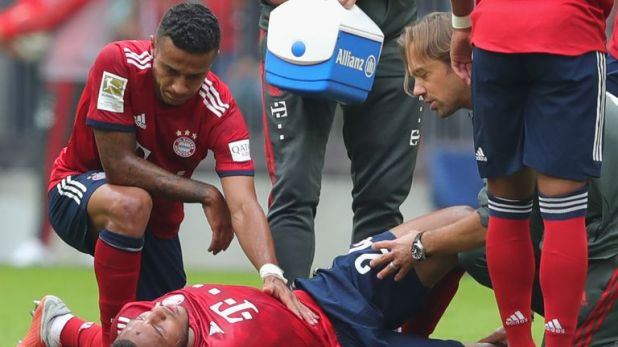 """Tolisso is set for """"several months out"""", say Bayern Munich"""
