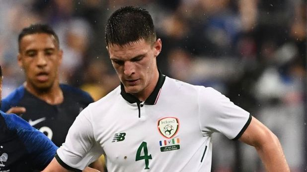Declan Rice has been capped three times by the Republic of Ireland