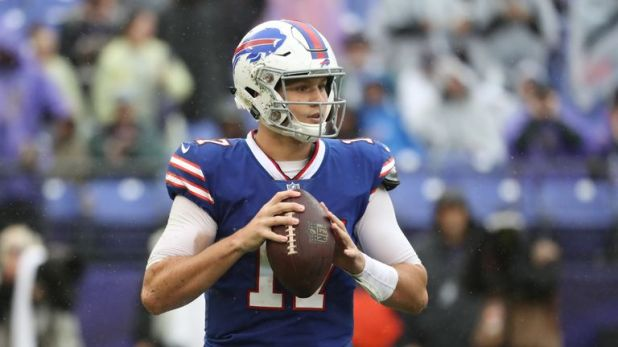 Rookie quarterback Josh Allen is set to miss the next two to three weeks with an elbow injury