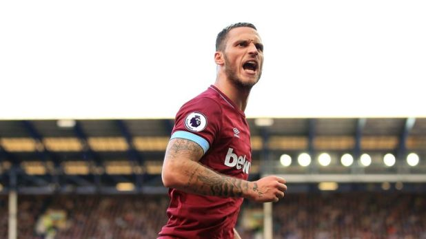 Arnautovic's third goal of the season wrapped up West Ham's victory at Everton