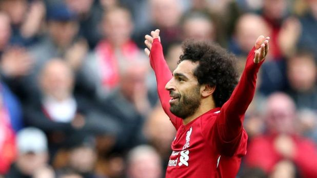 Mohamed Salah is the top rated Liverpool player on FIFA 19