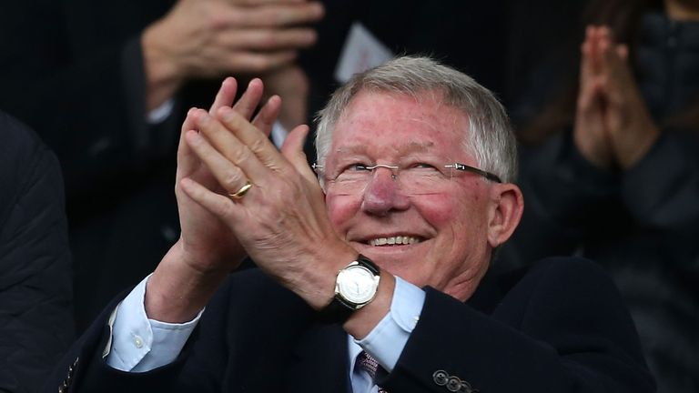 Ferguson has made a full recovery and returned to Old Trafford as a spectator in September