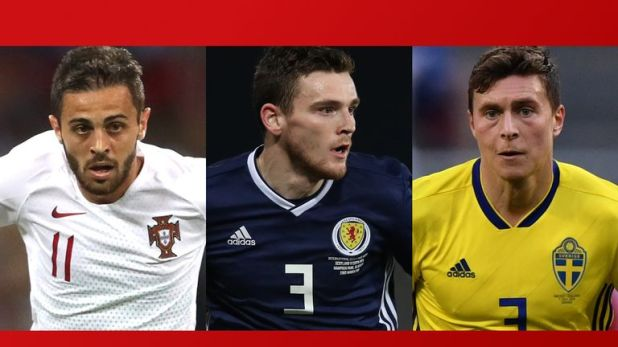 Portugal, Scotland and Sweden are in action on Thursday