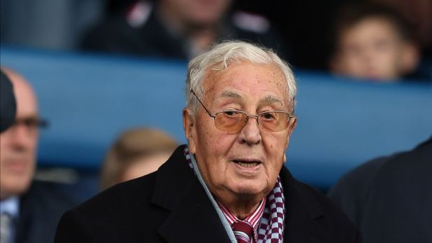 Doug Ellis tried to persuade Ferdinand to join Aston Villa