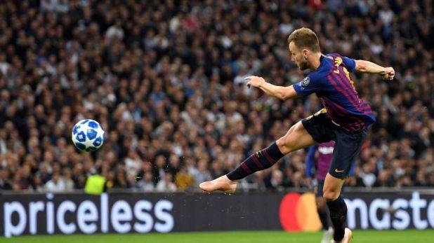 Ivan Rakitic's sweet strike at Wembley