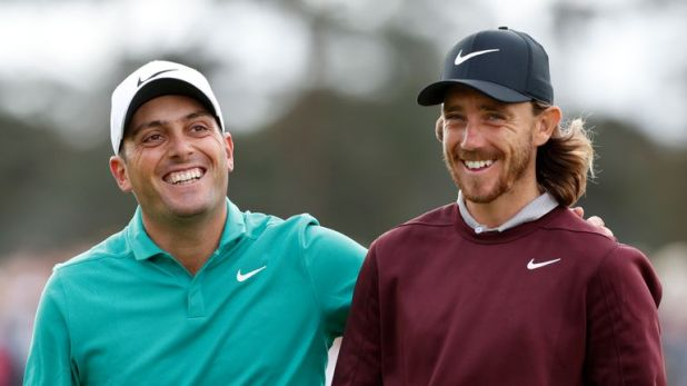 Francesco Molinari and Fleetwood have been paired together for the first two rounds