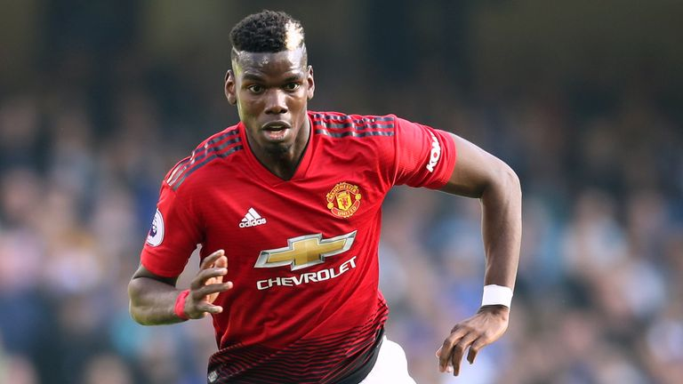 Paul Pogba's future at Man Utd continues to be subject of speculation