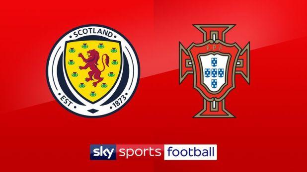 Watch Scotland v Portugal live on Sky Sports Football