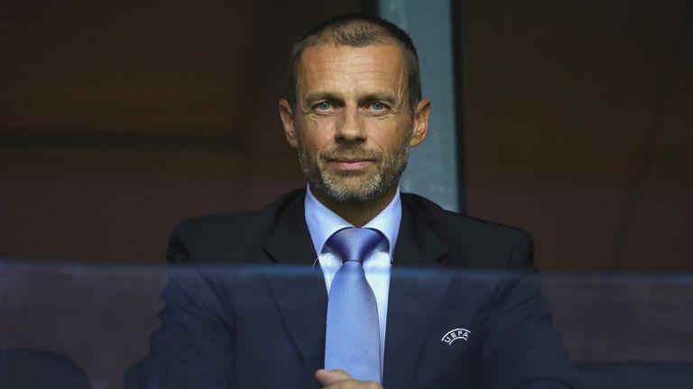 """Le président de l'UEFA, Aleksander Ceferin, a annoncé qu'il serait décidé si Man City enfreindrait les règles du FFP """"très prochainement""""."""
