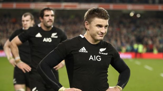 Barrett has played 73 Tests for New Zealand since making his debut in 2012