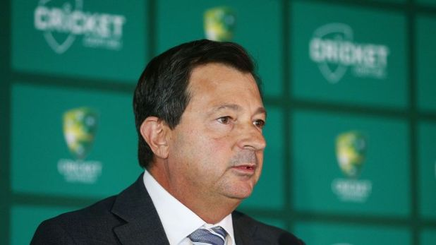 David Peever has stepped down as Cricket Australia chairman