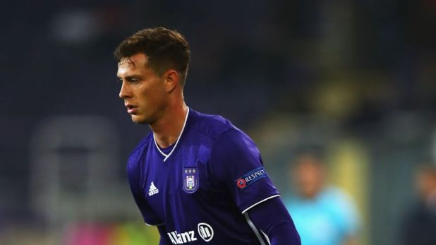 Anderlecht defender James Lawrence is in line to make his Wales debut