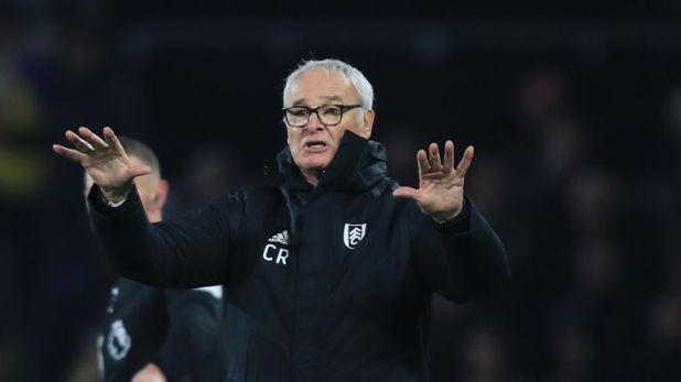 Ranieri helped lift Fulham off the bottom of the Premier League last weekend