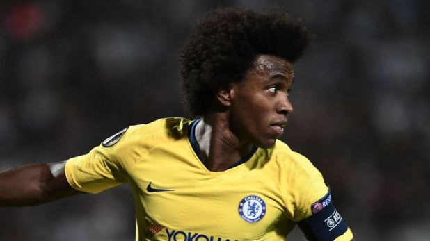 Willian is again being linked with Barcelona