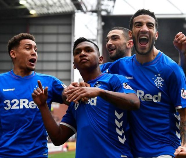 Rangers Moved Top Of The Scottish Premiership With Celtic Not In League Action