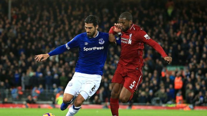Andre Gomes impressed for Everton