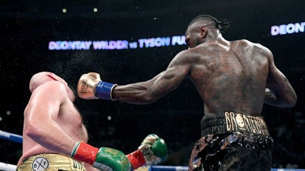 Wilder had Fury down in the final round
