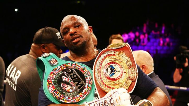 Dillian Whyte is not willing to accept the deal currently on offer in order to fight Joshua at Wembley in April, says Hearn