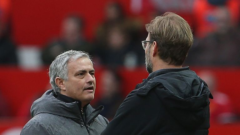Mourinho credited the determination and spirit of Jurgen Klopp with Liverpool's remarkable win