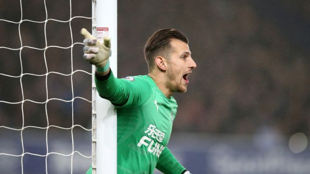 Martin Dubravka was in fine form before half-time but rarely called upon after the break.