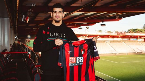 Dominic Solanke left Liverpool for Bournemouth, signing a long-term deal