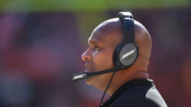 Jackson was previously head coach for the Cleveland Browns and Oakland Raiders