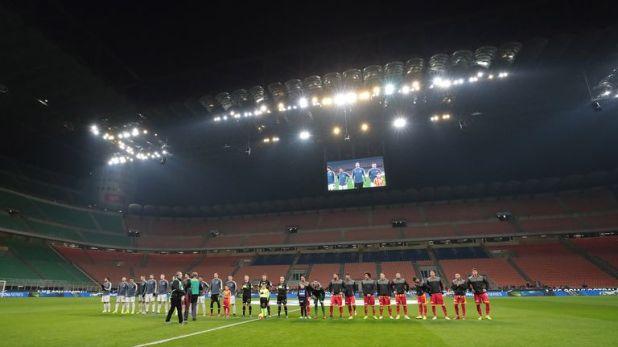 Inter Milan had to play Sunday's Coppa Italia game behind closed doors