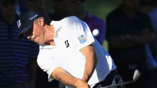 Kuchar has dropped only one shot in 36 holes