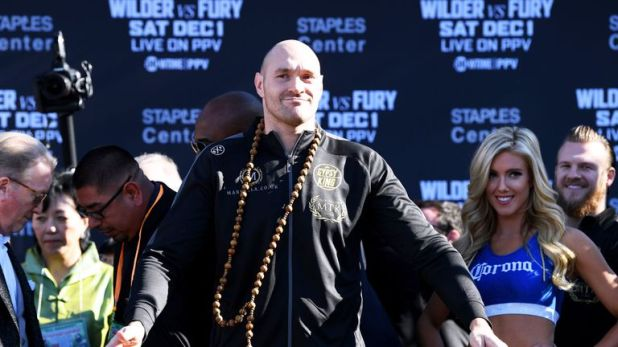 Tyson Fury has discussed Joshua fight in April, says Eddie Hearn