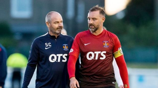 Boyd thrived under Steve Clarke at Kilmarnock