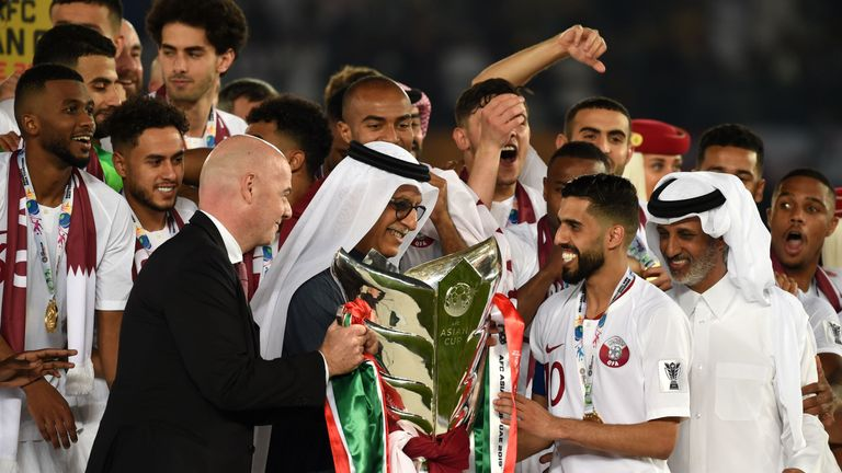 Qatar was a surprise winner in the 2019 Asian Cup, held in the United Arab Emirates.