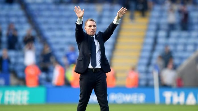 Rodgers won four games in a row after losing in his opening game at Watford