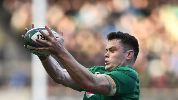 James Ryan will call Ireland's lineout against Wales