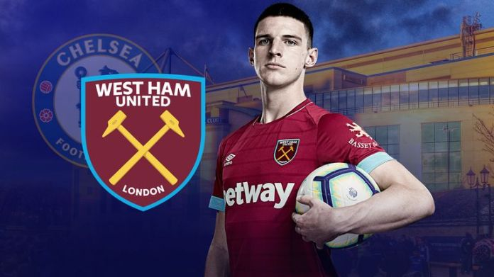 Declan Rice returns to Stamford Bridge as England's national team when West Ham faces Chelsea on Monday Night Football